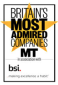 britains most admired companies